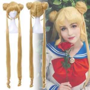Sailor Moon Cosplay Golden Wig